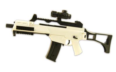 BlackViper G36 AEG Full auto Airsoft Gun in White