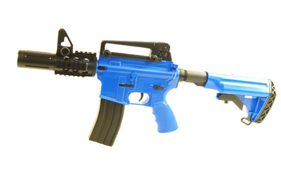 Blackviper B3812 Electric Rifle With Navy Adjustable Stock in Blue