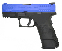 WE XDM Compact 3.8 GBB Pistol in Blue
