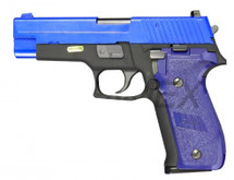 WE F228 Tactical S Series Gas Blowback Pistol in Blue