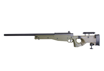 Well MB08 airsoft Spring Sniper Rifle in Green