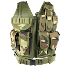 WoSport Tactical Mesh Vest in Woodland DPM