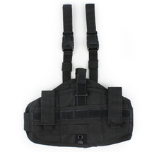 WoSport Molle Leg Holster in Black