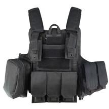 WoSport CIRAS Combat Vest in Black