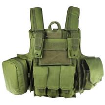 WoSport CIRAS Combat Vest in Olive Drab