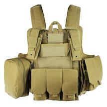 WoSport CIRAS Combat Vest in Desert Tan