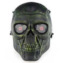 Wo Sport Terminator T800 Airsoft Mask in Copper