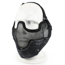 Wo Sport Metal Mesh Lower Face & Ears in Kryptek Typhon Camo
