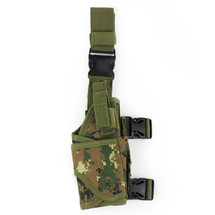 BV Tactical Drop Leg Holster in Italy Camo