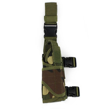 BV Tactical Drop Leg Holster in Woodland DPM
