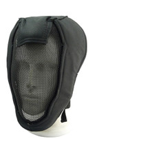 "Wo Sport Face Steel ""Striker"" Gen3 Metal Mesh Full Face Mask Black"