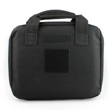 Wo Sport Portable Pistol Bag in Black