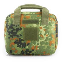 Wo Sport Portable Pistol Bag in Flecktarn Camo