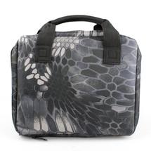 Wo Sport Portable Pistol Bag in Kryptek Typhon Camo