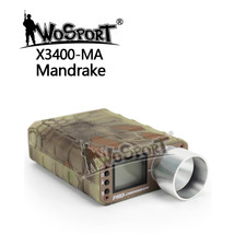 WoSport Pro Chronograph with LCD Display in Mandrake Camo