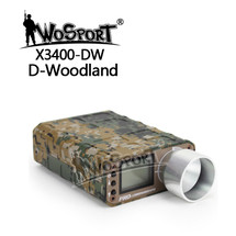 WoSport Pro Chronograph with LCD Display in Digital Woodland