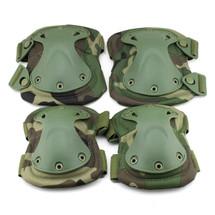 BV Tactical Safety Elbow & Knee Pad Set V3 Woodland Dpm