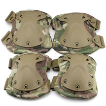 BV Tactical Safety Elbow & Knee Pad Set V3 in Multi Cam