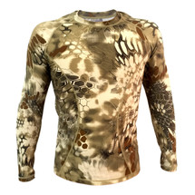 Wo Sport T-Shirt Long sleeved in Highlander Camo