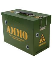 Kombat Army Style Ammo Metal Tin