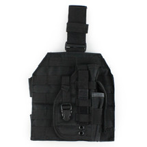 WoSport Molle Leg Platfom inc Holster in Black