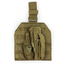 WoSport Molle Leg Platfom inc Holster in Olive Drab