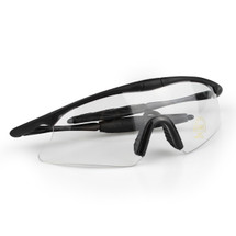 WoSport 7.0 Airsoft Glasses Black Frame With Clear Lens
