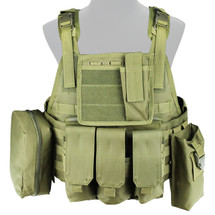 WoSport Commando Chest Rig in Olive Drab