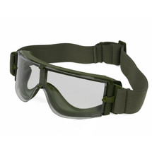 Wo Sport ATF Airsoft Goggles in Olive With Clear Lens