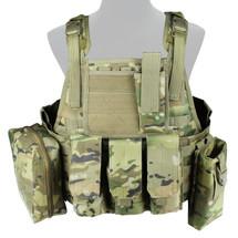 WoSport Commando Tactical Vest in Multi Cam