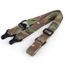 Wosport MS3 Two-point Rifle Sling in Multi cam