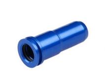 Aluminum Air Seal Nozzle for M4 Series AEG in Blue