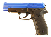 Y&P P226 Heavy Weight Spring Powered Pistol in Blue