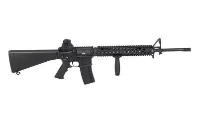 A&K Full Metal M16-A4 NS15 Airsoft AEG Rifle in Black