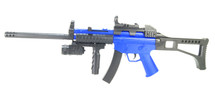 Cyma HY017C Spring Powered Rifle with long barrel in Blue/Black