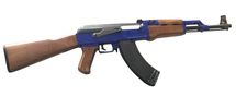 Cyma ZM93 AK47 Spring Rifle in Blue