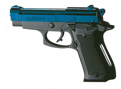 Chiappa 85 Auto Blank Firing Gun 8mm in Blue