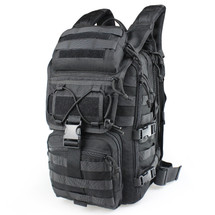 Wosport Multi functional Mountaineer Backpack in Black