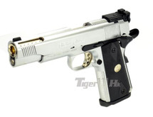 Army Armament Custom M1911A1 Replica GBB Full Metal Silver