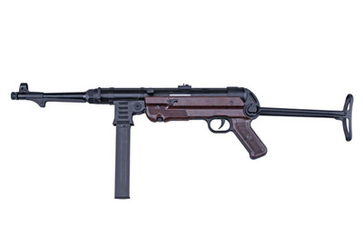 AGM MP40 Airsoft Rifle in Bakelite Version with Folding Metal Stock