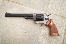 Blackviper 942 Spring Revolver with Long Barrel & Brown grip