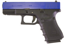WE EU19 GEN 4 BLACK PISTOL IN BLUE