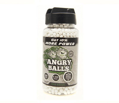 bio angry ball bb pellets for bb guns 0.25g