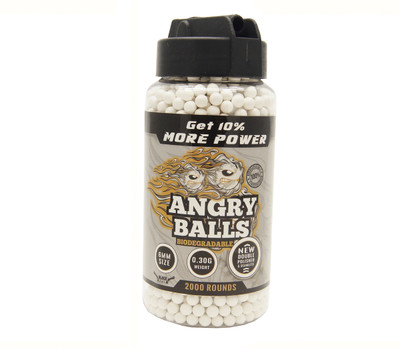 bio angry ball bb pellets for bb guns 0.30g