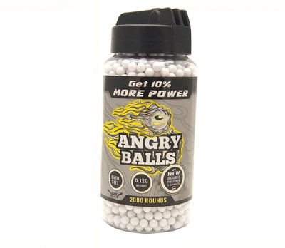 angry ball bb pellets for bb guns 0.12g (6mm)
