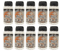 10 pots of angry ball bb pellets for bb guns 0.20g