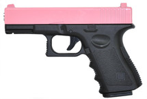 Galaxy G15 Full Metal Pistol in Pink
