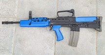 Army Armament L85 Electric Rifle in Blue with carry handle
