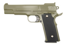 Galaxy G20 Full Scale M945 Pistol in Full Metal in Green