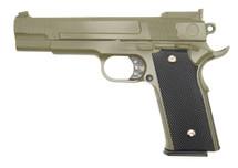 Galaxy G20 Full Scale M945 Pistol in Full Metal in Green